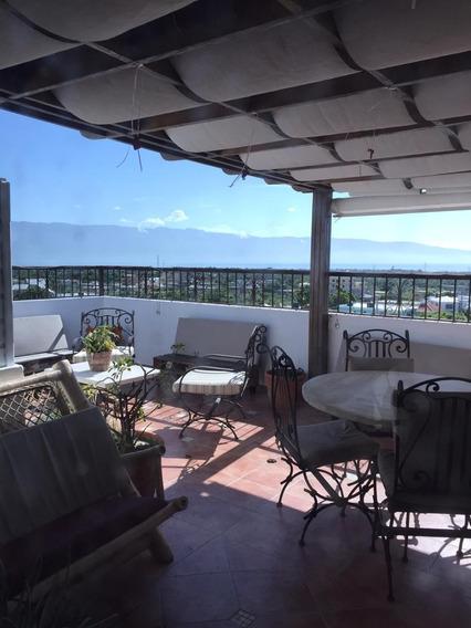 Apartamento 4 Nivel Con Pehouse, Vista Al Mar En Barahona Rd