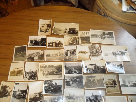 Gran¡ Coleccion De 235 Antiguas Fotografias De Autos Unicas¡