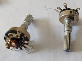 Potenciômetro B5k Com Chave Rádio