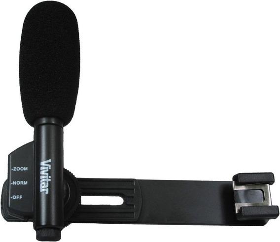 Microfone Lapela Para Filmadora iPhone Câmera Vivmic403
