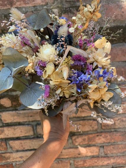Ramo Centro De Mesa , Decoración, Flores Secas Y Preservadas