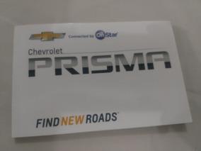 Manual Proprietario Novo Prisma 2017 18 Chevrolet Em Branco