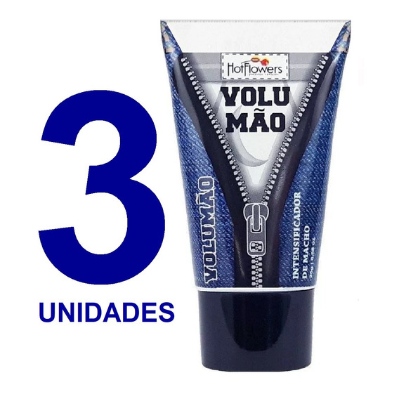 Kit 3 Gel Volumao Intensificador De Macho Aumento Peniano Sw