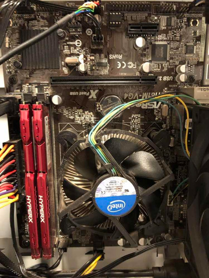 Kit Asrock H81m-hg4 I7 4790 16gb Ram Hyperx Troca Por Gpu