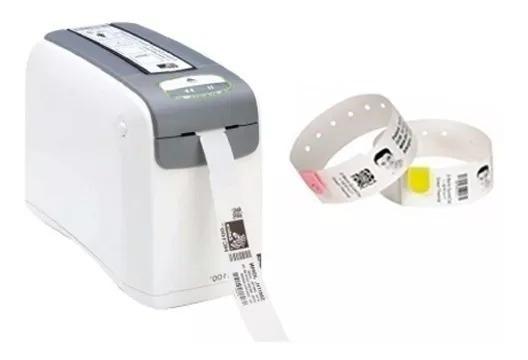 Impressora De Pulseiras Hc100 - Zebra Conexao:serial/usb