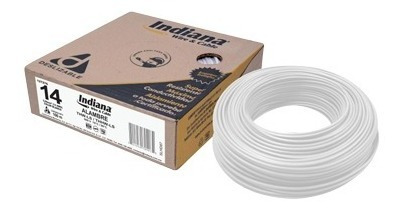 Cable Eléctrico Thw #14 Caja Con 100 Mtrs Indiana