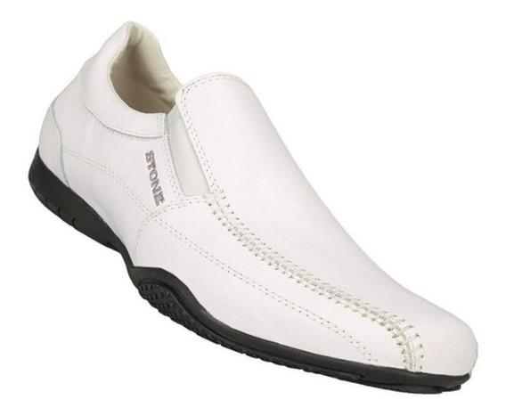 Zapatos Stone Blanco Cuero