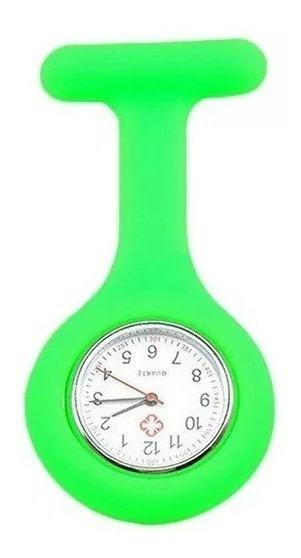 Relógio De Lapela Profissionais Da Saúde Enfermagem - Cores