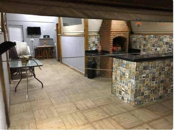 Cobertura Com 2 Dormitórios À Venda, 50 M² Por R$ 330.000 - Jardim Santo Alberto - Santo André/sp - Co0329