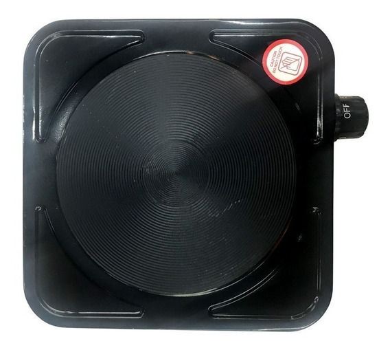 Anafe eléctrico Kushiro AEK-1000 negro 220V