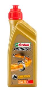 Aceite Castrol Power 1 15w50 Italy Semisintetico Cuotas