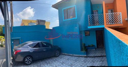 Sobrado Com 3 Dorms, Jardim Santa Mena, Guarulhos - R$ 750 Mil, Cod: 5350 - V5350