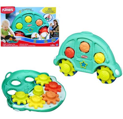 Auto + Engranajes Encastre Playskool Juguete Bebé Hasbro