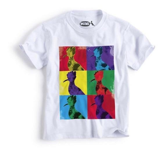 Camiseta Mini Pica-pau Andy Art Reserva Mini