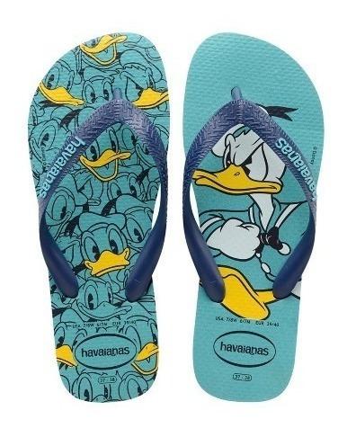 Chinela Havaianas Disney Pato Donald Masculina Original