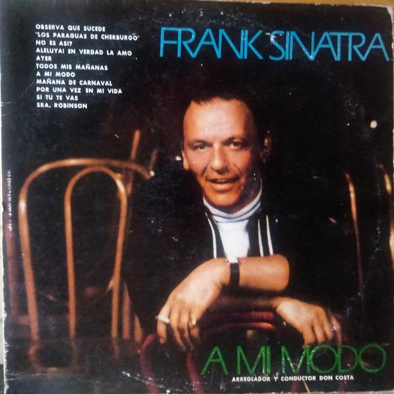 Frank Sinatra A Mi Modo Cover Beatles Vinilo 9 Tapa Ver Foto
