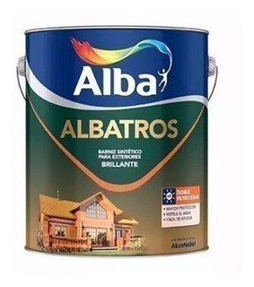 Albatros Barniz Marino Ext Bte Doble Filtro Solar 1l M M