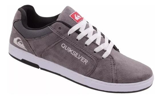 Tênis Quiksilver Bordado Lançamento Importado Skate/surf