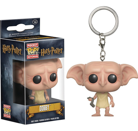 Llavero Funko Pop Dobby Harry Potter Pelicula Libro Pocket