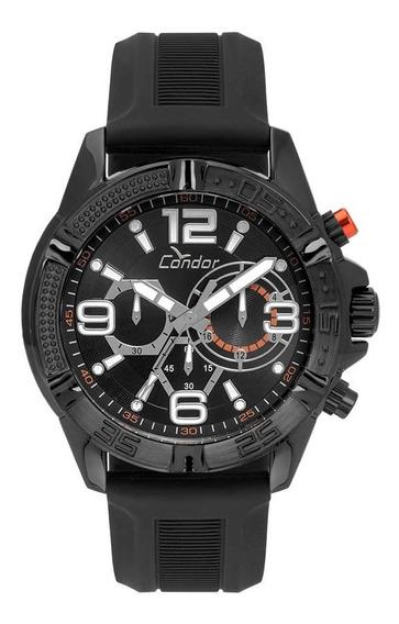 Relógio Condor Masculino Cronógrafo Covd54avul/8p Preto