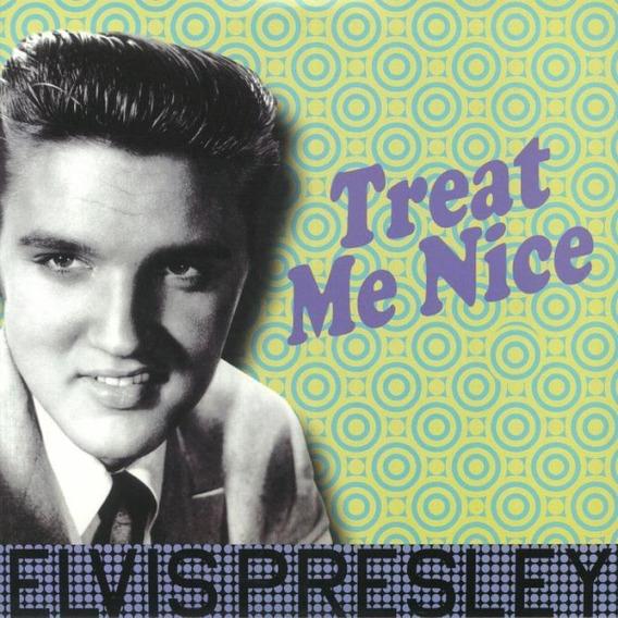 Lp Elvis Presley - Treat Me Nice - Importado