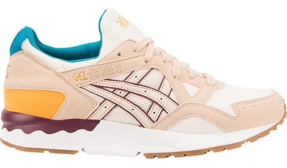 Zapatillas Asics Lifestyle Mujer Gel Lyte V Multicolor Ras