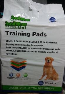 Envio Gratis !! 100 Pañales Sabanillas Mascota Perros 60x60