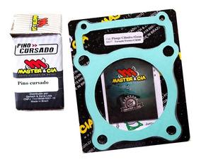 Pino Cursado + Flange Tornado / Twister 2mm - Master & Cia