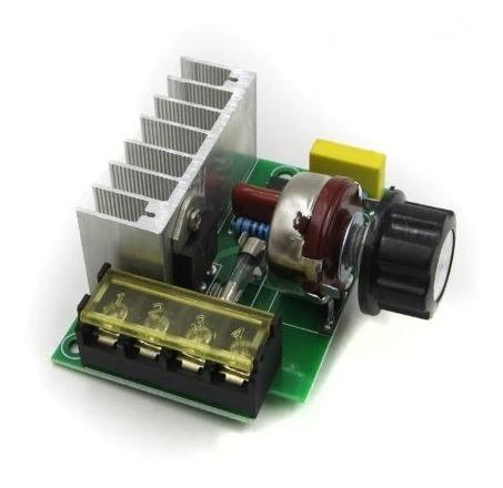 Regulador De Tensão Ac De 50v A 220v Potencia Max 4000watt