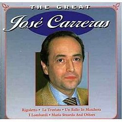 Cd Jose Carreras - The Great (novo Aberto)