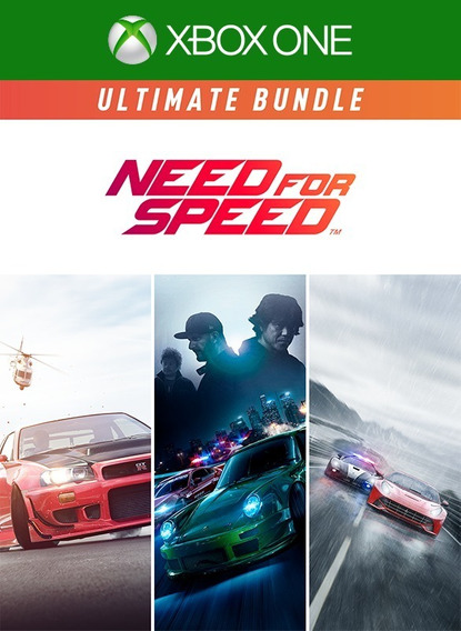 Need For Speed Ultimate Bundle Xbox One Mídia Digital