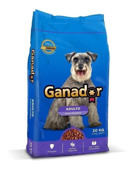 Ganador Alimento Perro Razas Pequeñas 20 Kg