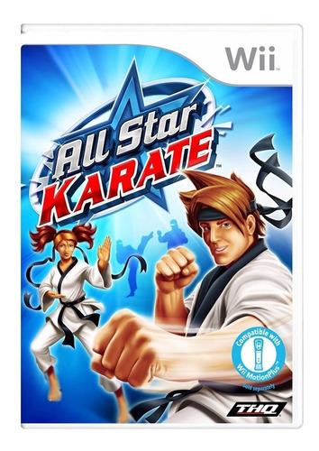 All Star Karate - Nintendo Wii - Original - Usado