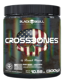 Crossbones - 300g Rage Berry - Black Skull