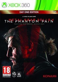 Jogo Metal Gear Solid V The Phantom Pain Xbox 360 Míd Física