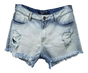 Short Jeans Feminino Hot Pants Lança Perfume Frete Grátis