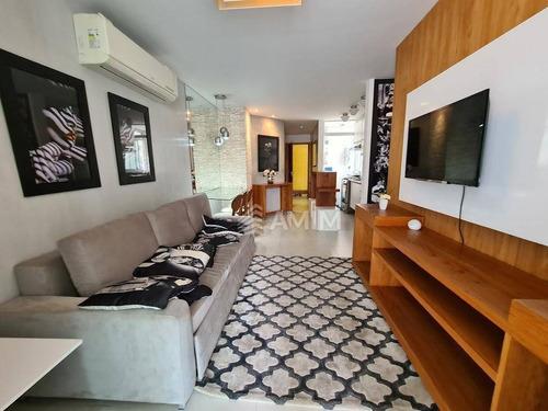 Entrar E Morar, Imagine Você Morando No Centro De Icaraí, Com Este Luxo De Apartamento De Alto Padrão, Com Toda Segurança, E Com Vários Itens De Lazer - Ap4228