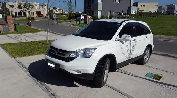 Honda Crv 2012 Lx Con Agregados Caja Automatica 2wd Blanca