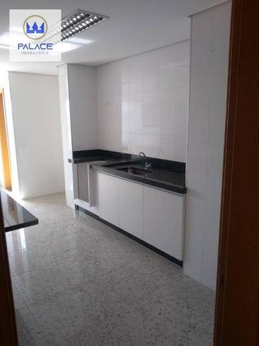 Apartamento Com 3 Dormitórios À Venda, 108 M² Por R$ 600.000,00 - Alemães - Piracicaba/sp - Ap0275