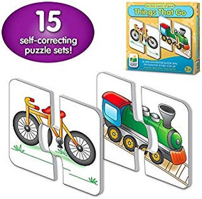 Puzzle Infantil The Learning Journey Things That Go