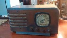 Raríssimo Radio Valvulado Antigo Madeira Belfast Frete Gráti