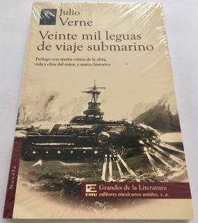 Veinte Mil Leguas Viaje Submarino Verne Portada Puede Variar