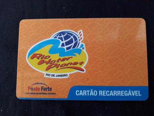 Imagem 1 de 2 de Cartão Recarregável Rio Water Pioner Rio De Janeiro Cod 1276