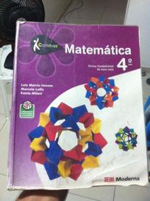 Conviver Matemática 4º Ano - 1ª Edição Moderna