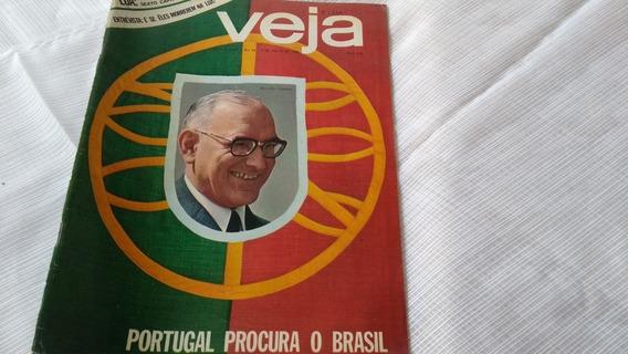 Revista Veja Nº 44 Silvio Santos Encarte Lua Portugal Etc