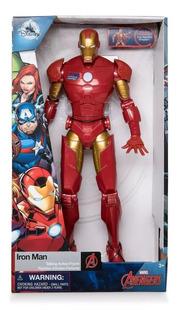 Marvel Ironman Con Sonido 15 Frases Disney Orig. Replay