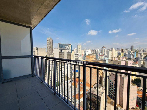 Imagem 1 de 23 de Apartamento À Venda, 29 M² Por R$ 349.036,22 - República - São Paulo/sp - Ap2809
