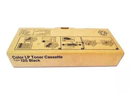 Color Lp Toner Cassette Type 125 Black
