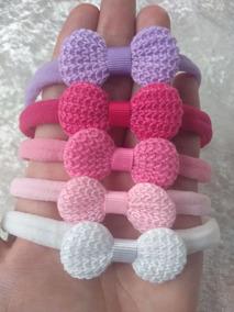 Laco Rn Meia De Seda Slim Croche 10 Unidades