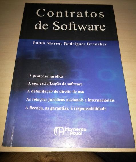 Livro Contratos De Software # Frete Grátis #